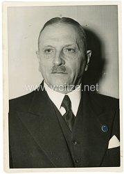 III.Reich Pressefoto, Ministerialrat Godlewski, Präsident des statistischen Reichsamts 24.12.1940