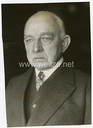 III.Reich Pressefoto, Generalleutnant Schwarte siebzig Jahre alt