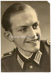 Wehrmacht Portraitfoto eines Unteroffizier