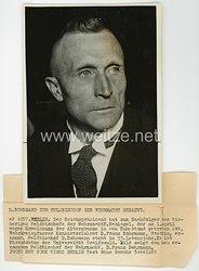 III.Reich Pressefoto, Mann zum Feldbischof der Wehrmacht ernannt