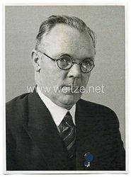III.Reich Pressefoto, Leiter des Deutschen Reichsbundes Guido von Mengden