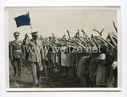 III. Reich Pressefoto. Marschall Balbo fliegt zum Führer. 13.8.1938.