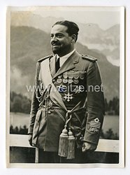 III. Reich Pressefoto. Marschall Balbo. 29.6.1940..