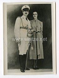 III. Reich Pressefoto. Freude im Albanischen Königshaus. 6.4.1939.