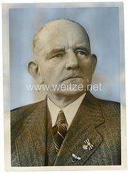 III.Reich Pressefoto, Botschafter Faupel wieder Präsident des Ibero-Amerikanischen Institutes 5.3.1938