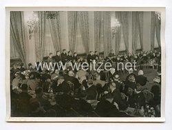 III. Reich Pressefoto. Empfang für die Ausländischen Staatsmänner im Kaiserhof. 26.11.1941.
