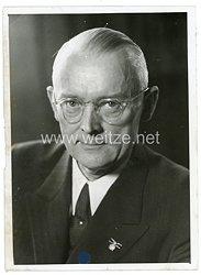III.Reich Pressefoto, Prof. Dr. O. Niemczyk Rektor der TH-Berlin 25.4.1942