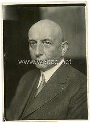 Weimarer Republik Pressefoto, Melcher wird Oberpräsident von Sachsen 16.2.1933