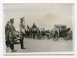 III. Reich Pressefoto. Italienische Truppenübung in Piemont 7.8.1939