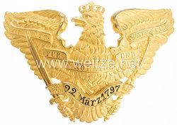 Preußen Pickelhaube Adler für Offiziere im Grenadier-Regiment König Wilhelm I. (2. Westpreußisches) Nr. 7