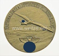 """NSFK große goldene nichttragbare Plakette """"Für Fünfjährigen ehrenamtlichen Einsatz Nr. 220"""""""