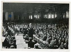 III.Reich Pressefoto, Werk.Konzert des städtischen Orchesters Berlin 21.5.1943