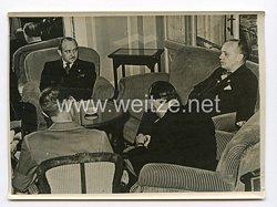 III. Reich Pressefoto. Reichsaussenminister v. Ribbentrop in Como. 9.5.1939.