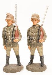 Elastolin - Heer 2 Soldaten Ehrenposten bzw. Ehrenwache
