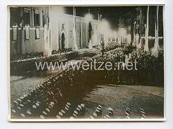 III. Reich Pressefoto. Roms Feststrassen in Erwartung des Führers. 5.5.1938.