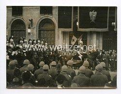 III. Reich Pressefoto.So holte Rom den Führer Grossdeutschlands ein. 4.5.1938.
