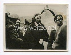 III. Reich Pressefoto. Italiens Kronprinzessin besucht deutsche Flieger. 17.3.1943.