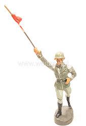 Elastolin - Heer Tambourmajor marschierend