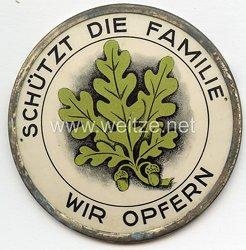 """WHW - 1. Winterhilfswerk des Deutschen Volkes Januar 1934 """" Schützt die Familie - Wir opfern """""""