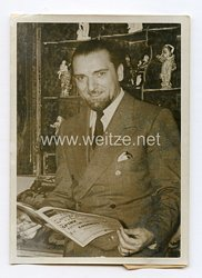 III. Reich Pressefoto. Grandi - Justizminister. 12.7.1939.