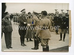 III. Reich Pressefoto. Der Führer im Campo Centocelle. 5.5.1938.