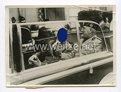 III. Reich Pressefoto. Der Führer bei der Besichtigung des zweitausendjährigen Roms. 8.5.1938.