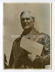 III. Reich Pressefoto. Graziani Oberbefehlshaber in Nordafrika.