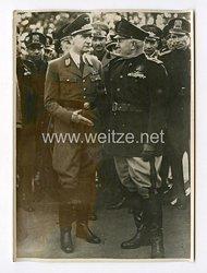III. Reich Pressefoto. Gauleiter Bohle in Italien. 5.11.1941.