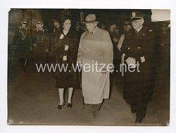 III. Reich Pressefoto. Ministerpräsident Göring wider in Berlin. 18.4.1939.