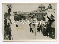 III. Reich Pressefoto. Göring am Mal des unbekannten Soldaten. 15.4.1939.