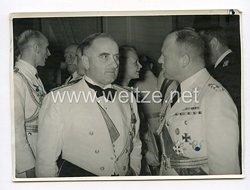 III. Reich Pressefoto. Empfang für General Valle im Haus der Flieger in Berlin am 26.6.1939.