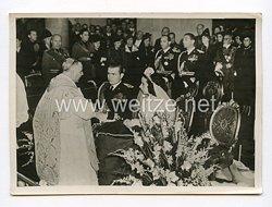 III. Reich Pressefoto. Mussolinis jüngster Sohn hat geheiratet. 30.10.1938.
