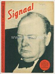 """Signal - Sonderausgabe der """" Berliner Illustrierten Zeitung """" - Jahrgang 1943 Heft Nr. H 8 ( holländisch )"""