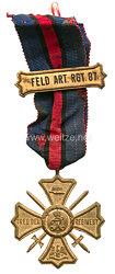 Preußen Regiments-Erinnerungskreuz des Feld-Artillerie-Regiments Nr. 87