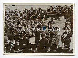 III. Reich Pressefoto.Der Führer und Duce ehren die Toten des Weltkrieges. 5.5.1938.