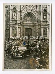 III. Reich Pressefoto. Jubel um den Führer und den Duce in Florenz. 29.10.1940.