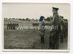 III. Reich Pressefoto. Der Führer in Döberitz. 17.8.1938.