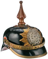 Mecklenburg-Schwerin Pickelhaube für Unteroffiziere im Grenadier-Regiment Nr. 89