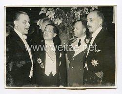 III. Reich Pressefoto. Der Empfang des Reichspressechefs im Hotel Kaiserhof in Berlin. 24.1.1939.