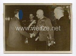 III. Reich Pressefoto. Der Führer empfing Honvedminister Bartha. 29.1.1941.