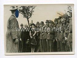 III. Reich Pressefoto. Des Führers Inspektion am Rein. 19.5.1939.