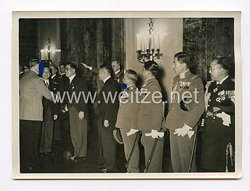 III. Reich Pressefoto. Japan Beglückwünscht den Führer. 20.4.1939.