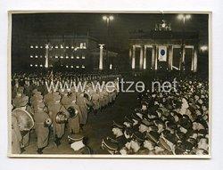 III. Reich Pressefoto. Des Führer triumphaler Einzug in die Reichshauptstadt. 10.5.1938.