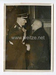III. Reich Pressefoto. Ungarischer Staatssekretär in Berlin. 9.1.1939.