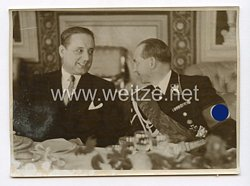 III. Reich Pressefoto. Empfang der jugoslawischen Pressevertreter in Reichsministerium für Volksaufklärung und Propaganda. 1.6.1939.