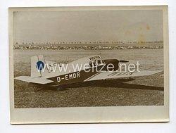 III. Reich Pressefoto. Internationaler Höhenrekord eines deutschen Leichtflugzeug. 2.2.1939.
