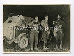 III. Reich Pressefoto. Nach 5 Tagen vom Einsatz zurück. 15.1.1943.