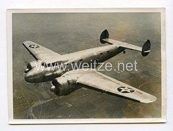 III. Reich Pressefoto. Ein Amerikanisches Stratosphärenflugzeug. 16.8.1938.