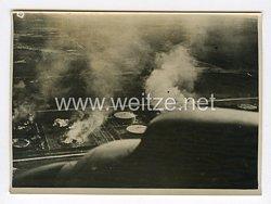 III. Reich Pressefoto. Dies sind die Wirkungen unserer Stukaangriffes. 9.7.1940.