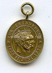 Preussen Erinnerungsmedaille zur Goldenen Hochzeit 1879 Kaiser Wilhelm I. und Kaiserin Augusta